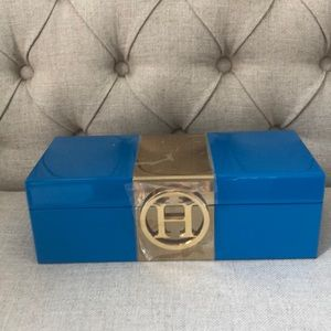 Brand New Monogram Lacquer Jewelry box
